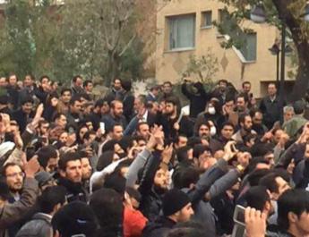 ifmat - Protests erupt in Iran backing Azerbaijan in Nagorno-Karabakh conflict