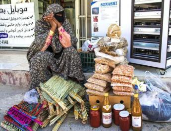 ifmat - Female peddlers in Iran risking death
