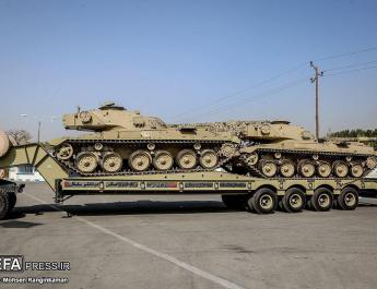 ifmat - Iran installs T-72 engines to beef up Chieftain tanks