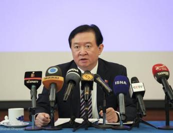 ifmat - Chinese Ambassador to Iran Chang Hua says China And Iran are comprehensive strategic Partners