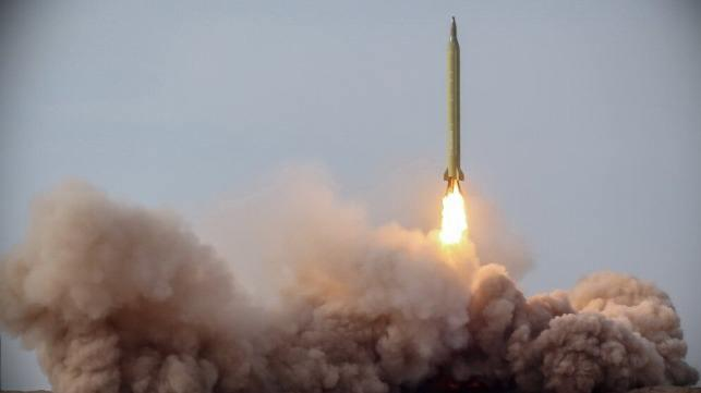 ifmat - Iran Test-Fires ballistic missiles 100 miles from carrier strike group