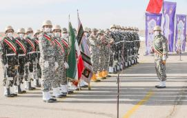 ifmat - Iran military holds first-ever drone drill 2