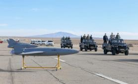 ifmat - Iran military holds first-ever drone drill 4