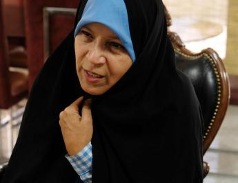ifmat - Rafsanjani daughter criticised her country intervention in Syria