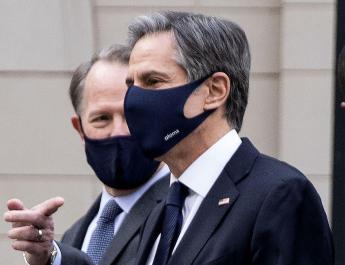 ifmat - US Secretary of State Blinken discusses Iran destabilising behavior with UK