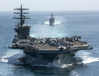 ifmat - US aircraft carrier to remain in Gulf due to threats by Iran