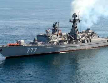 ifmat - Iran Russia and China launch joint naval exercises in Indian Ocean