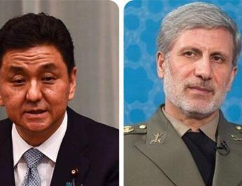 ifmat - Iran and Japan agree to boost defense cooperation