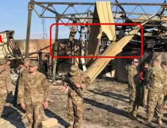 ifmat - Footage emerges of Iranian missile attack on US troops - Video