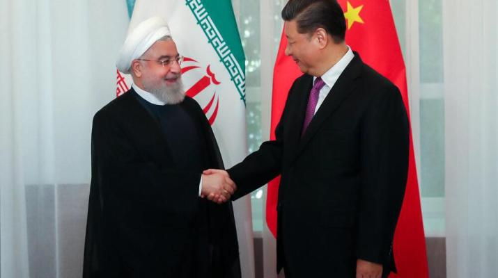 ifmat - Iran Rouhani says ties with China are strategic