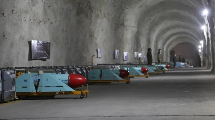 ifmat - Iran navy unveils new base of ballistic missiles