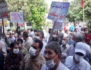 ifmat - Pensioner protests hint at bigger Iran protests