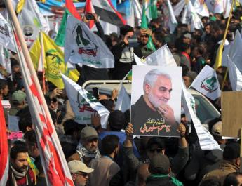 ifmat - Pro-Iran group stages armed Baghdad rally