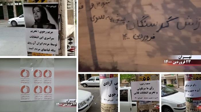 ifmat - Exclusive videos and photos showing activities boycotting the sham Presidential election