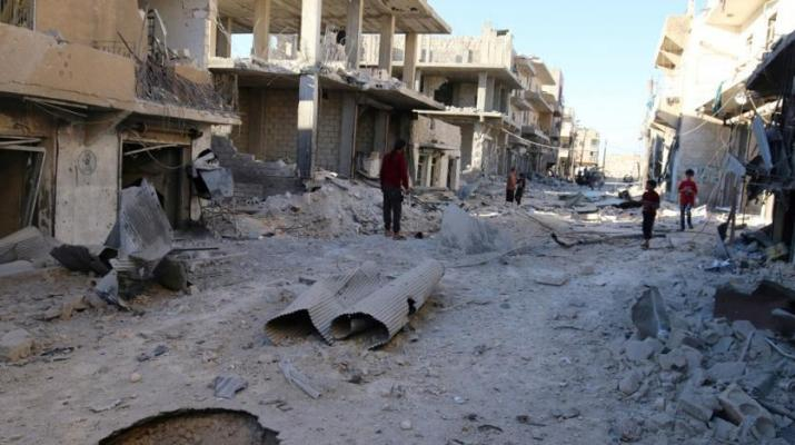 ifmat - Iranian militias South of Syria Aleppo pressure citizens to leave homes