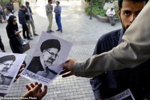 ifmat - Ebrahim Raeesis presidential candidacy - A gamble on succeeding Khamenei