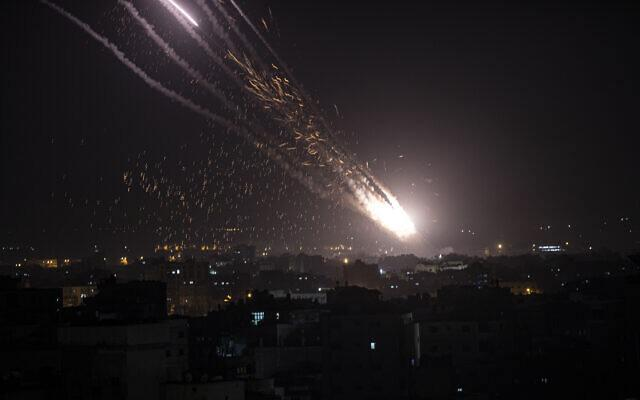 ifmat - Iran-backed Terrorists fire 200 rockets at Israel in 24 hours