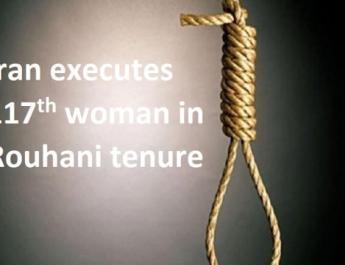 ifmat - Iran executes 117th woman in Rouhani tenure