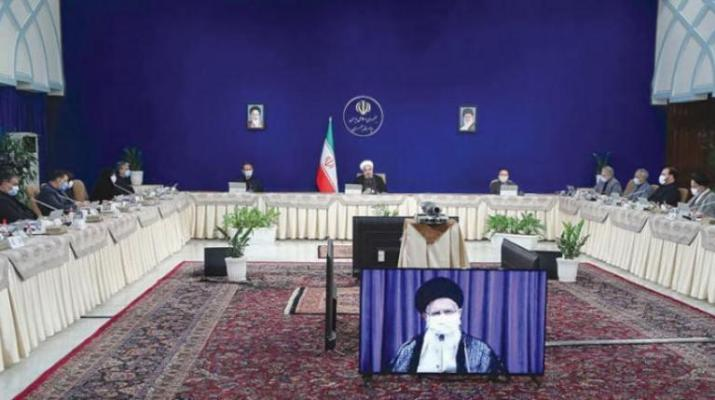 ifmat - Ali Khamenei blasts the Rouhani administration in final cabinet meeting