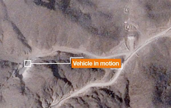 ifmat - Geospatial imagery shows activity at Iranian nuclear facility