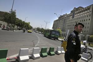 ifmat - Iran anti-riot forces deploy in Tehran anticipating protests