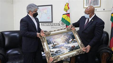 ifmat - Zimbabwe - Iran Ambassador Meets Speaker