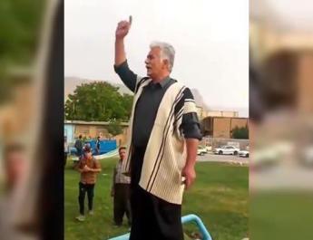 ifmat - Locals protest arrest of outspoken community leader and activist Habib Fadaie in SW Iran