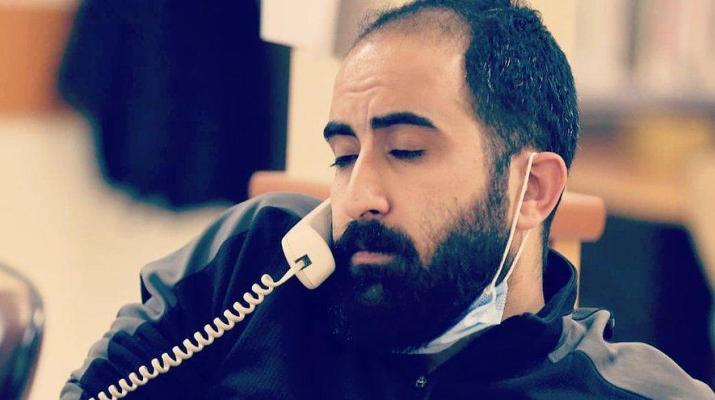 ifmat - Journalist Amirabbas Azarmvand Arrested at his home in Tehran