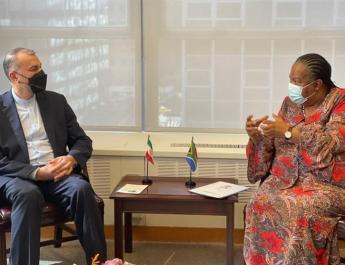 ifmat - Iran and South Africa make arrangements for joint commission meeting