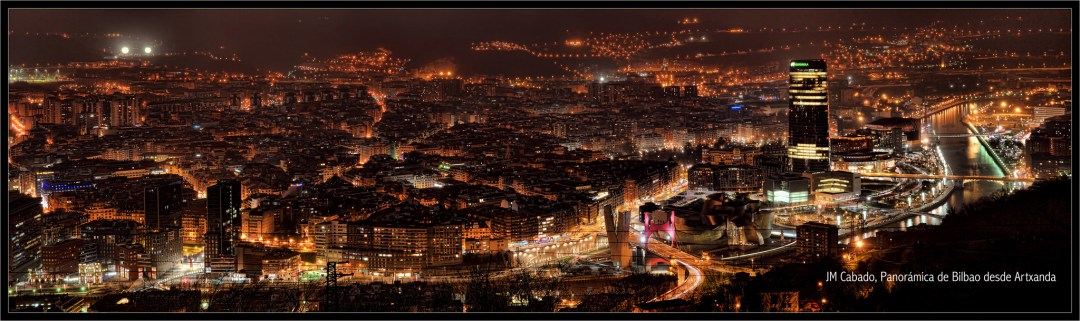 Panorámica de Bilbao desde Artxanda