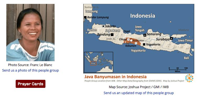 Los Java Banyumasen de Indonesia    Oportunidad para formar un equipo apostólico