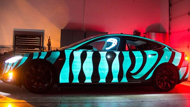 Tesla paint