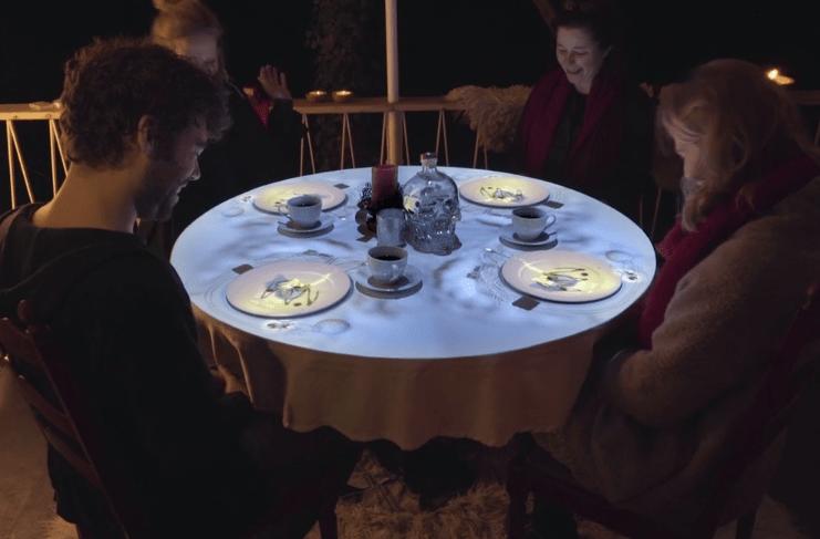 Cinematic dinner