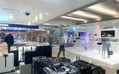 Interactive retail space