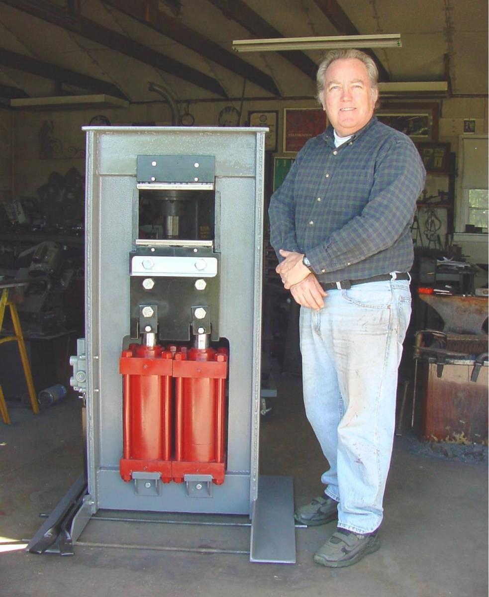 60 ton hydraulic forging