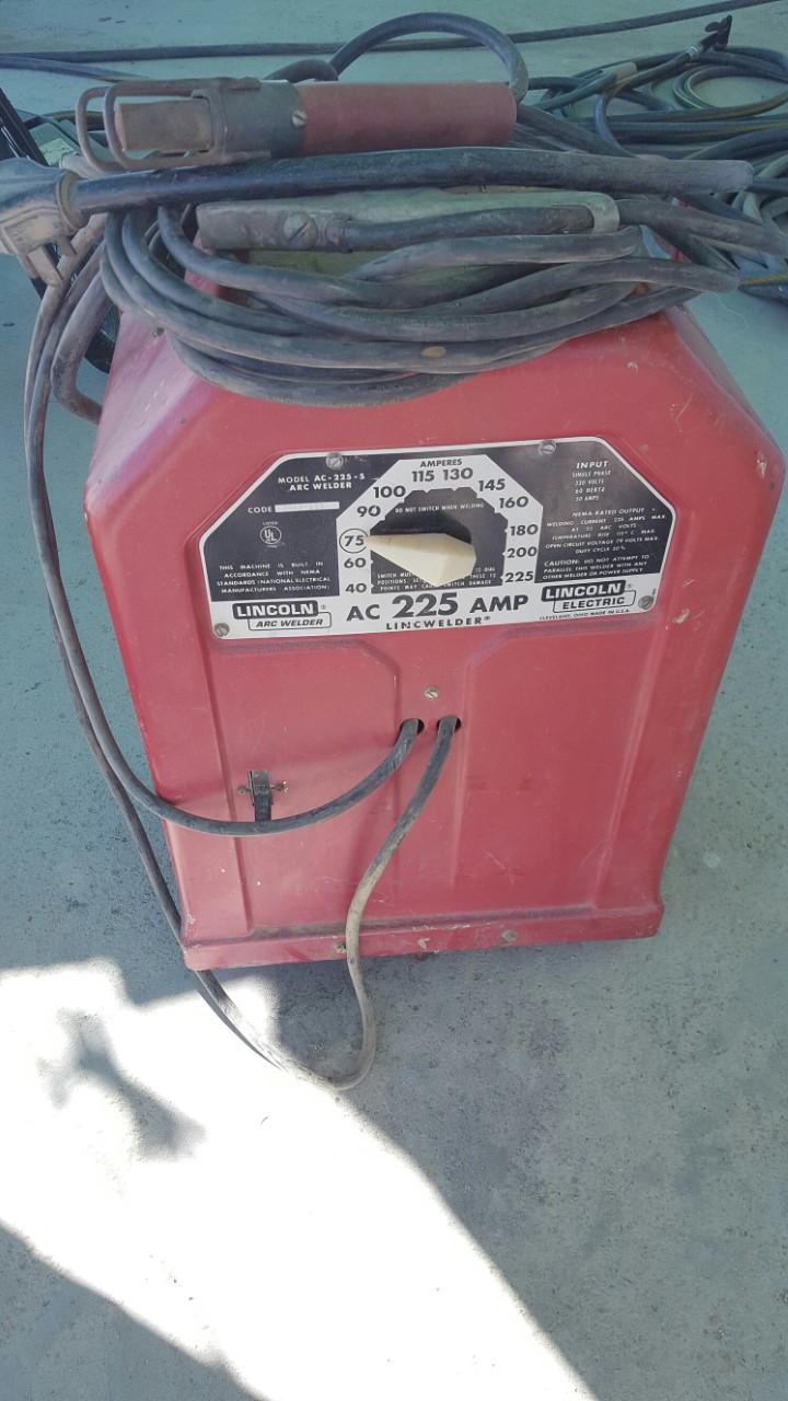 hight resolution of just bought ac 225 s arc welder lincwelder