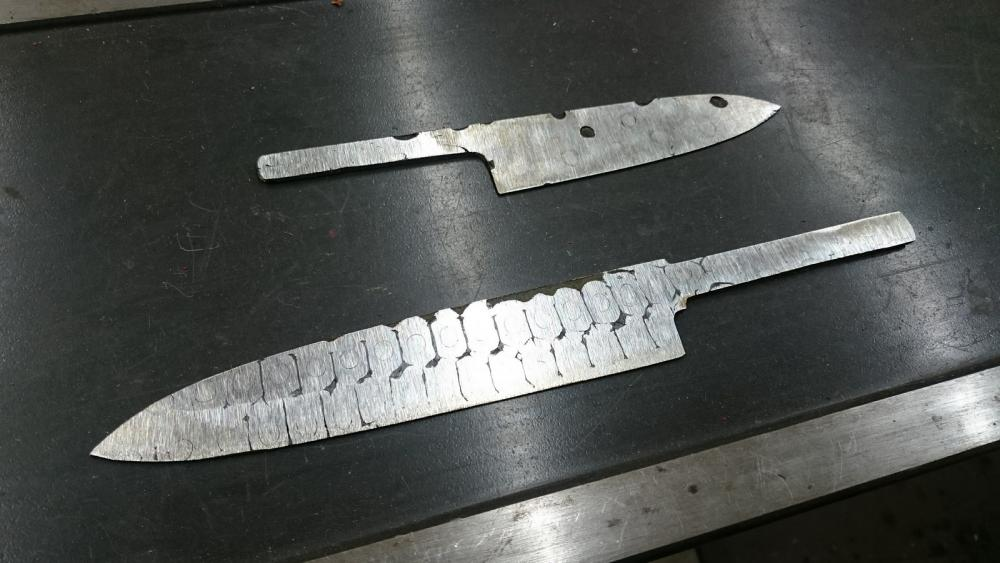 bicycle chain kitchen knife  Knife Making  I Forge Iron