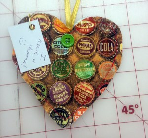 Bottle Cap Heart