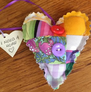 Beautiful Quilted Heart  WX