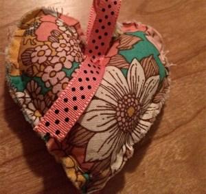Floral with Polka Dot Ribbon