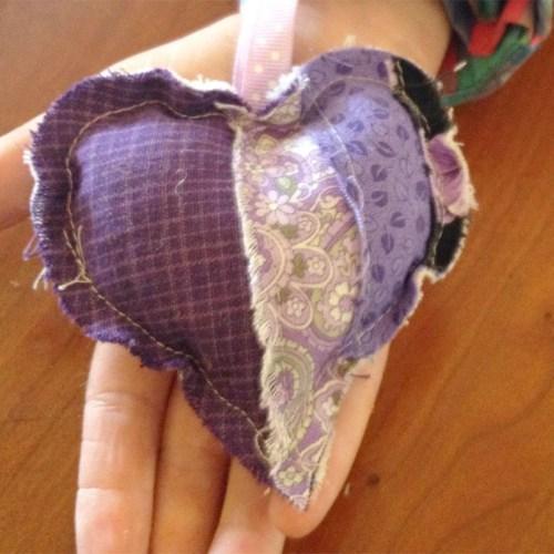 Purple Purple HEart WX