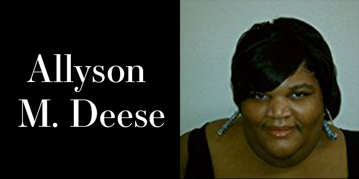 Author Allyson M Deese