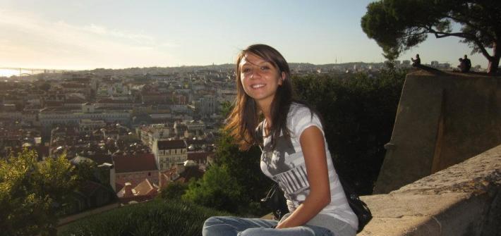 La sottoscritta In Erasmus a Lisbona