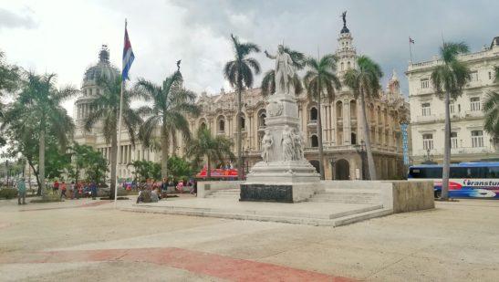 Parque-Central-capitale-cuba
