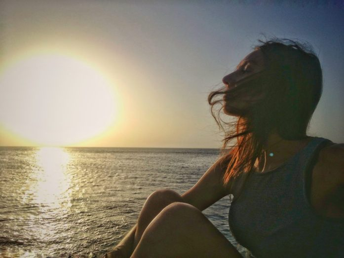 tramonto cuba in un viaggio da sola