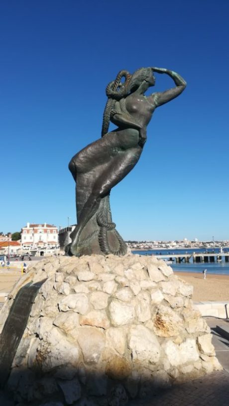 La sirena nei pressi di Lisbona