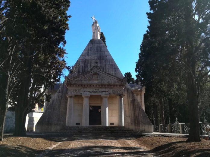 mausoleo più grande di europa cimitero dos prazeres lisbona