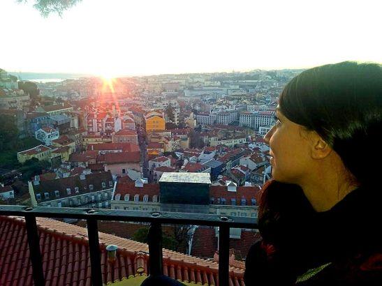 Tramonto a Graça, Lisbona