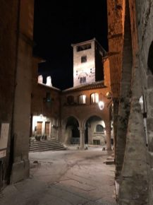 Viterbo by night a San Pellegrino