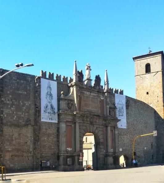 Una giornata a Viterbo con entrata da Porta Romana